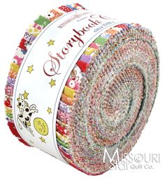 These might be awesome for those book/quilt ideas rolling around in my head: Storybook Classics Jelly Roll from Missouri Star Quilt Co