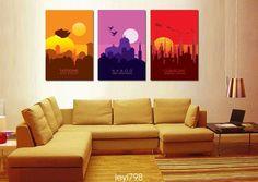 Original Hd Canvas Abstract Print Home Decor Wall Art Painting,Star Wars