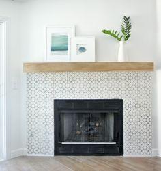 DIY Fireplace Makeover | Centsational Girl | Bloglovin'