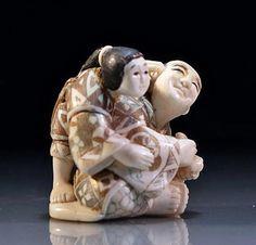 Image result for human netsuke
