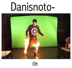ONE JOB DAN XD EVEN THOUGH YOU CAN'T KEEP ONE, YOU STILL HAD ONE. JOB. XD XD XD