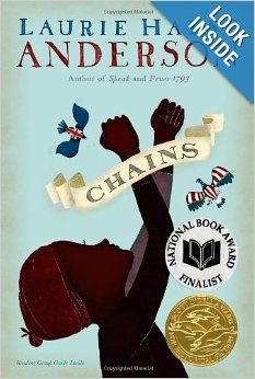 (Simon & Schuster) From acclaimed author Laurie Halse Anderson comes this compelling, impeccably researched novel that shows the lengths we can go to cast off our chains, both physical and spiritual. Kids Reading, Reading Lists, Book Lists, Close Reading, Guided Reading, Historical Fiction Novels, Fiction Books, Mother Daughter Book Club, Out Of Touch