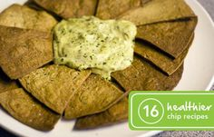 16 Healthier Ways to Make Chips: Chips are the perfect accompaniment to a sandwich, or for mindlessly munching on couchside. We've got 16 alternatives (some sweet, some salty) for a healthier crunch. Healthy Chips, Healthy Treats, Healthy Eating, Clean Eating, Snack Recipes, Cooking Recipes, Healthy Recipes, Cooking Time, Healthy Foods