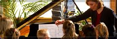 Musikgarten children come to the piano ready to play the songs they have learned to sing, dance, and love. Small group lessons at the keyboard capitalize on your child's delight in making music with others and allow the children to have success quickly playing songs that they know.