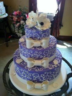 Wedding Cake - via @Craftsy