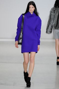 color of the season Costume National | Fall 2014 Ready-to-Wear Collection | Style.com
