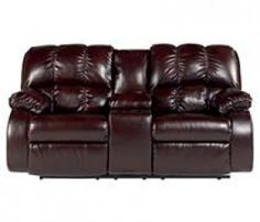 Recliners - Knockout DuraBlend  - Redwood Rocker Recliner | Ashley Furniture