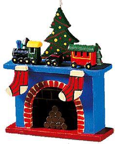 Rothenburger Weihnachtswerkstatt Kamin
