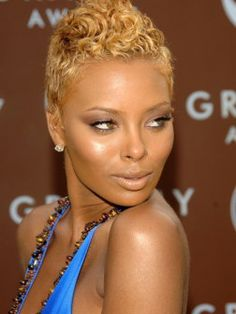 blonde color for black women