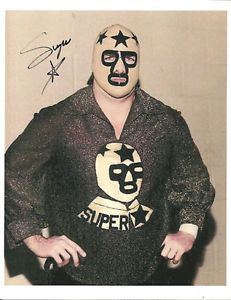 Image is loading Masked-Superstar-signed-Wrestling-Collection-Lot-w-COA-