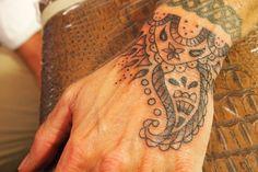 Hand #pattern #tattoo