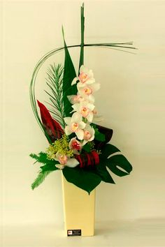 Tall Flower Arrangements | Gold Coast Flowers Simply Stunning available at Flowers On Q