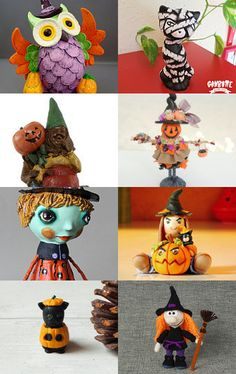 halloween gifts by EMANUELA ECCA on Etsy--Pinned with TreasuryPin.com