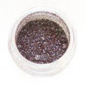 MAC Blue Brown pigment sample from MUG