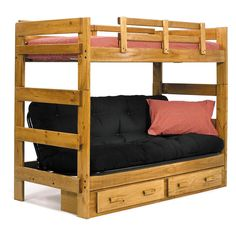 Have to have it. Savannah Twin over Futon Bunk Bed - $599.98 @hayneedle
