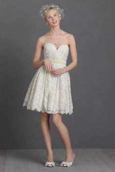 NEW BHLDN Sarah Seven Lustrous Lace Wedding Dress Sz 2