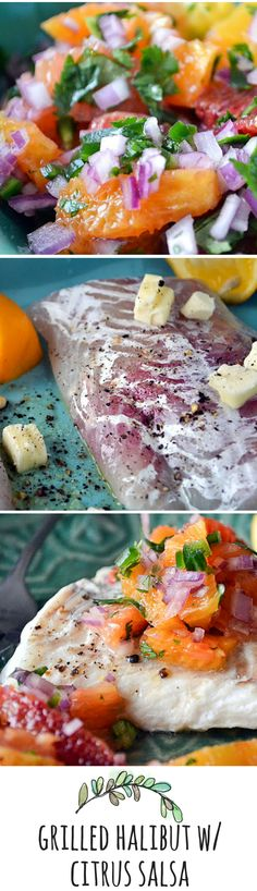 A light and healthy meal made extra special with a tangy citrus salsa