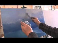 Artist Igor Sakharov Paints Seascapes and Landscapes in oil - YouTube