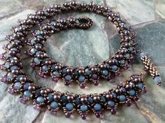 Video: Spring Flower Buds Necklace Part 1 ~ Seed Bead Tutorials