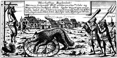 medieval monster woodcut - Google Search