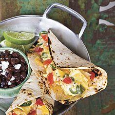 Migas Tacos | 23 Minutes | SouthernLiving.com
