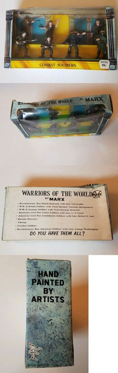 Pre-1970 734: Marx Worriors Of The World. Combat Soldiers. Original Box. Vintage! -> BUY IT NOW ONLY: $199 on eBay!