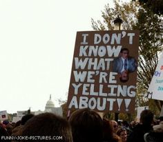 Funny Protest Sign Picture