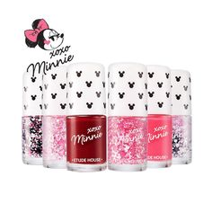 ETUDE HOUSE  XOXO Minnie in the Nails#2 Bubble Pink/ Korean cosmetics #ETUDEHOUSE