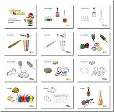 fichas actividades musica - Buscar con Google