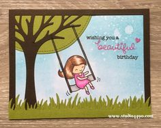 Wishing you a beautiful birthday (Lawn Fawn) - studio 4490