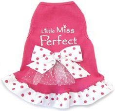 Little Miss Perfect Dog Dress                                                                                                       .:BēLLäSFãSh!oN:.