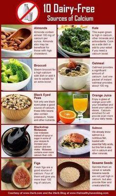 10 Dairy-Free Sources of Calcium