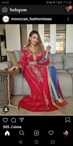 Moroccan Caftan, Sari, Couture, Caftans, Outfits, Dresses, Fashion, Hair, Caftan Dress