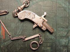 Antique/Vintage Gun Watch Fob