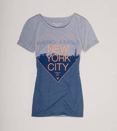 NYC shirt Womens Clearance, American Eagle Men, Mens Outfitters, Lounge Wear, American Eagle Outfitters, Hoodies, Clothes For Women, My Style, Nyc