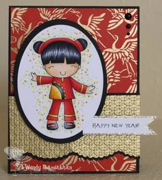 Chinese New Year by Nin Nin - Cards and Paper Crafts at Splitcoaststampers