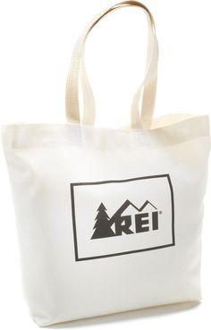 Go reusable, or go home! REI Reusable Tote Bag.