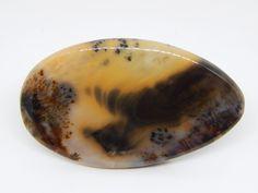 53 x 31 mm Agata dendritica. Cabochon di agata dendritica. di HELGASHOP su Etsy