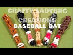 New Baseball or Tennis Ball Bracelet - Advanced - Rainbow Loom, Crazy Loom, Wonder Loom, Bandaloom - YouTube