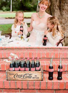 welcome coca-colas...