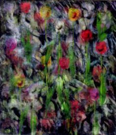 Tulips in the garden limited edition of  8 prints
