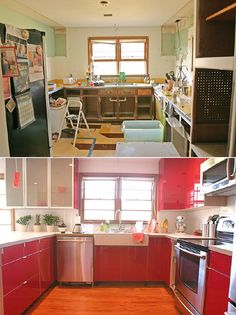 Before and After! Kitchen Renovation