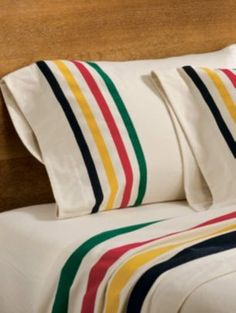 Glacier Park Flannel Sheet Set.