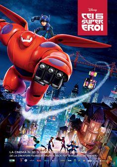 CONCURS: Big Hero 6/Cei 6 Supereroi