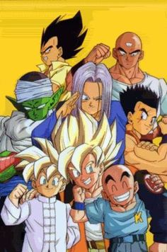Oh yeah, who could forget Dragon Ball Z? xD