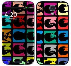 Skin Celular Pop Art Beatles Samsung Galaxy S4