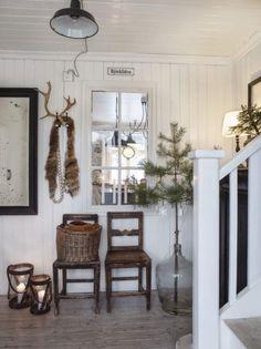 Keltainen talo rannalla: Kaunis joulukoti