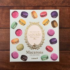 Laduree recipe from Paris, France.