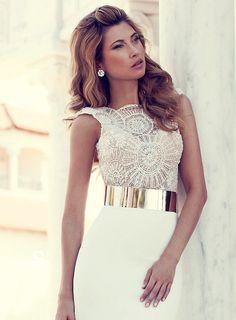 bridalup.com SUPPLIES Elegant julie Wedding Dresses Sheath Sleeveless Lace Dress Sexy Wedding Dresses (2)