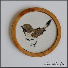 Sous-verre oiseaux 2